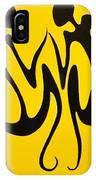 Dancing In Yellow IPhone Case