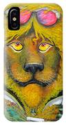 Dancing King Of The Serengeti Discotheque IPhone Case