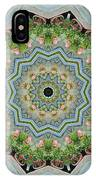 Dancing Mandevilla Blossom Kaleidoscope IPhone Case