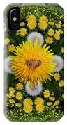 Dandelion Grove Mandala IPhone Case