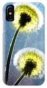 Dandelion Parachute Balls IPhone Case