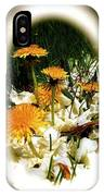 Dandelion Time IPhone Case