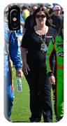 Danica Patrick And Martin Truex Jr. IPhone Case