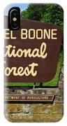 Daniel Boone IPhone Case