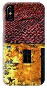 Danish Barn Impasto Version IPhone Case