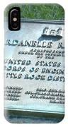 Dardanelle Plack IPhone Case