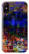 Dark City Lights Cityscape IPhone Case