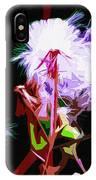 Dark Dandelions IPhone Case
