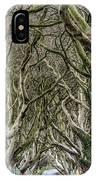 Dark Hedges  IPhone Case
