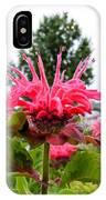 Dark Pink Bergamot IPhone Case