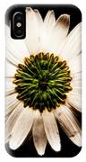 Dark Side Of A Daisy Square Fractal IPhone Case