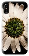 Dark Side Of A Daisy Square IPhone Case