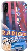 Dave Matthews And Tim Reynolds Live At Radio City IPhone Case