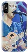 Dave Matthews-op Art Series IPhone Case