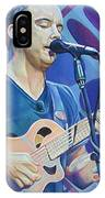 Dave Matthews-op Art Series IPhone Case