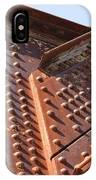 Davenport Railroad Bridge Beam V IPhone Case