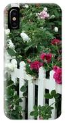 David Austin Roses Chelsea Flower Show IPhone Case