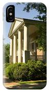 Davidson College Eumenean Hall IPhone Case