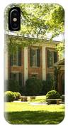 Davidson College Old Well And Philanthropic Hall IPhone Case