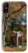 Davidson College Old Well In Autumn IPhone Case