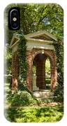 Davidson College Old Well IPhone Case