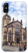 Day At The High Kirk IPhone Case