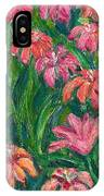 Day Lily Rush IPhone Case