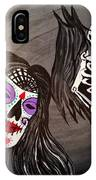 Day Of The Dead Good Vs Evil IPhone Case