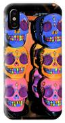 Day Of The Dead Ink IPhone Case