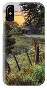Daybreak Southwest Corner Fenceline IPhone Case