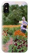 Daylily Decisions IPhone Case