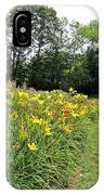 Daylily River IPhone Case