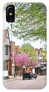 Days Gone By In Bishop's Stortford High Street IPhone Case