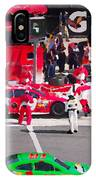 Daytona Speedway Race View IPhone Case