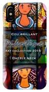 Dazzle Neck Art Collection IPhone Case