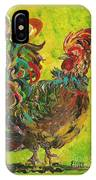 De Colores Rooster #2 IPhone Case