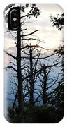Dead Pines Along The Parkway IPhone Case