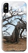 Dead Tree - Natural Bridges National Park IPhone Case