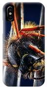 Dead Wasp On A Fork IPhone Case