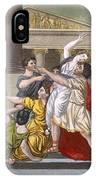 Death Of Virginia, Illustration IPhone Case