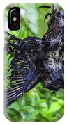 Death Raven Hanging In The Rope IPhone Case