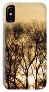December Forest Dusk IPhone Case