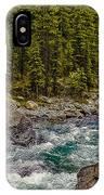 Dechutes River Rapids Bend Oregon IPhone Case