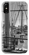 Deck Of Balclutha 3 Masted Schooner - San Francisco IPhone Case