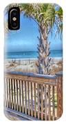 Deck On The Beach IPhone Case