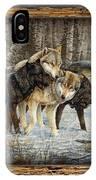 Deco Wolves IPhone Case