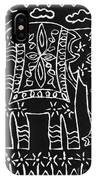 Decorated Elephant IPhone Case