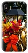 Decorated Lamp Post IPhone Case
