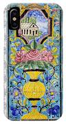 Decorated Tile Work At The Golestan Palace In Tehran Iran IPhone Case