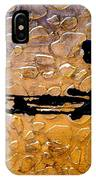 Decorative Abstract Giraffe Print IPhone Case